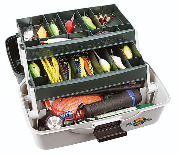 ящик со снастями для рыбалки